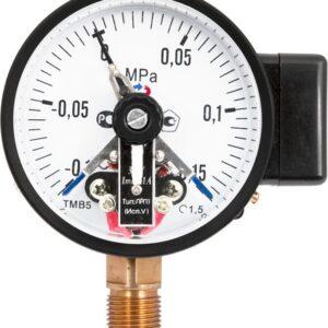 Манометры с электроконтактной приставкой ТМ-510Р.05(0-0,16MPa)М20х1,5.1,5*